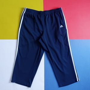 2004 Adidas Striped Athletic Pants Short